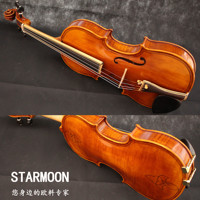 European violin hand - made high - grade Italy material inlaid adult professional performance violin instrument violin