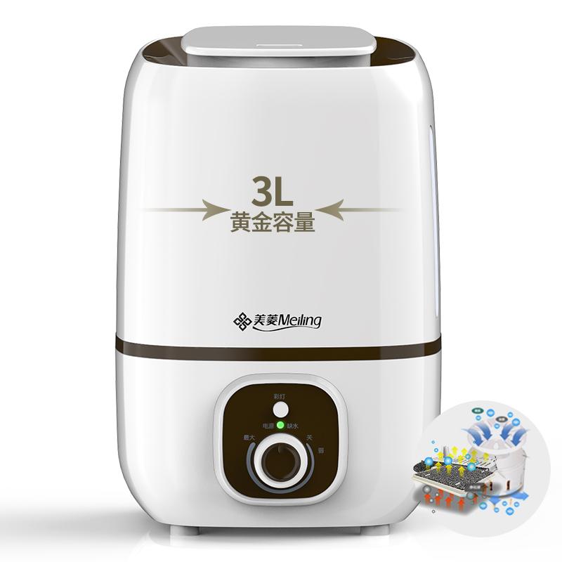 La Oficina creativa de filtro purificador de aire DIY fans Humidificador doméstico silencio mudo dormitorio mini Humidificador