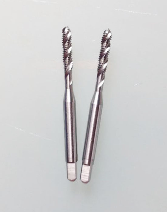 Replace OSGYAMAWA imported cobalt high speed steel machine tap screw thread tapping 5#-44UNF stainless steel