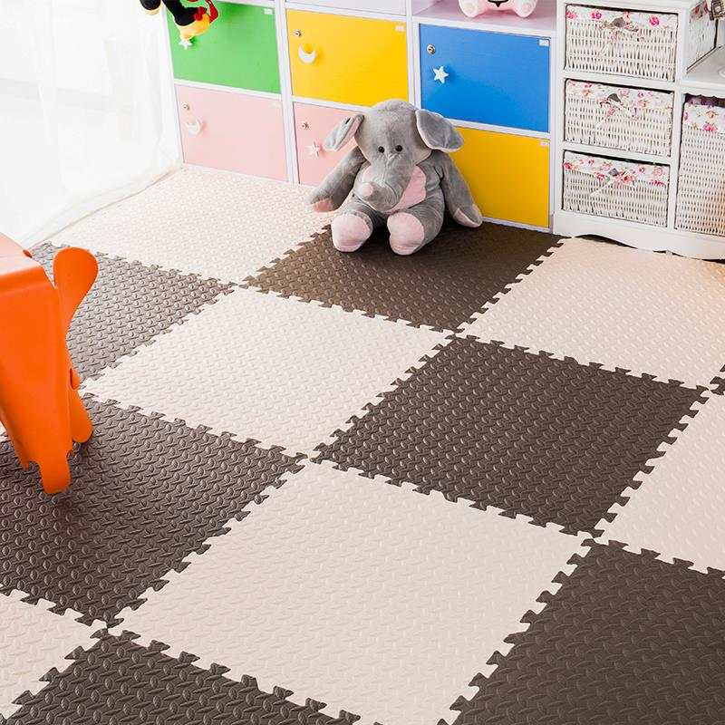 Baby soft puzzle mats tatami children crawling pad plastic mosaic carpet floor mat bedroom