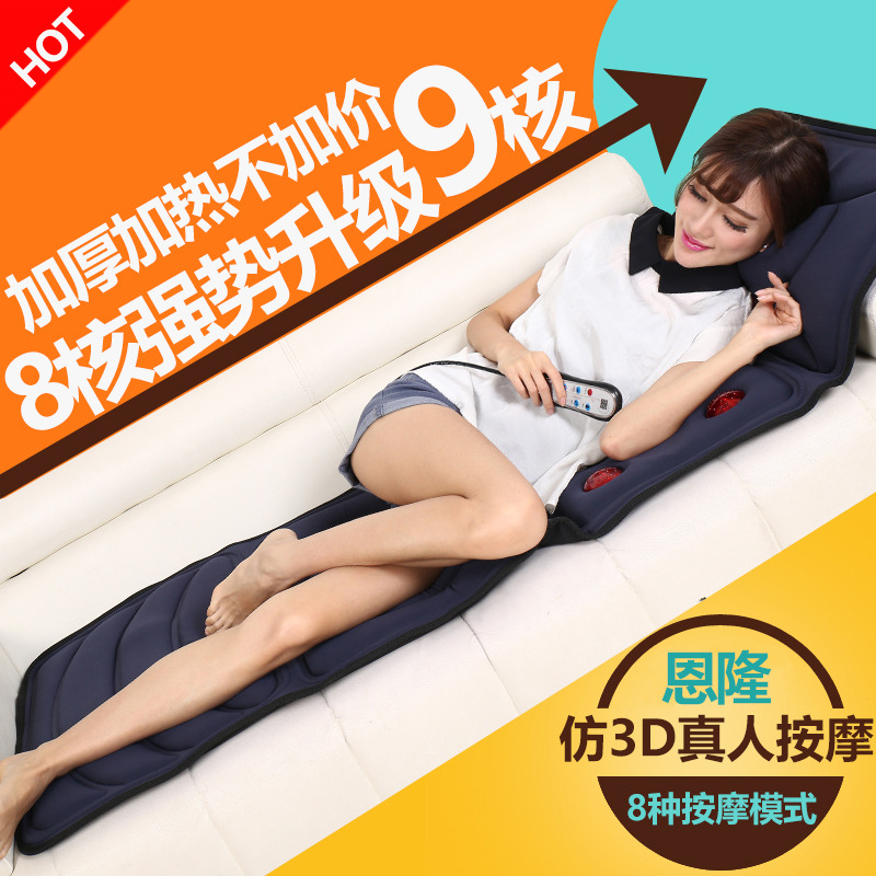 Waist massage device heating home lumbar kneading back massage pillow shoulder vehicle massage cushion