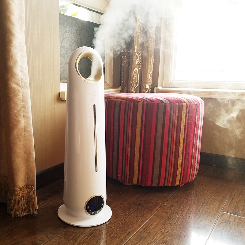 Humidifier, home silence, bedroom office, large capacity floor type air purifying fragrant machine