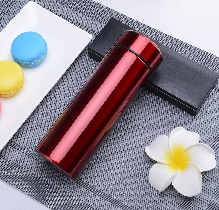 Portable mug, portable stainless steel cup, male and female business, large capacity outdoor creative vacuum tea cup