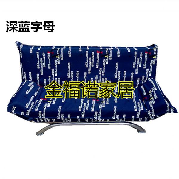 Ένα απλό πτυσσόμενο καναπέ τον καναπέ - κρεβάτι καναπέ του Γραφείου ύφασμα σπίτι καναπέ απευθείας στους κατασκευαστές και φτηνή