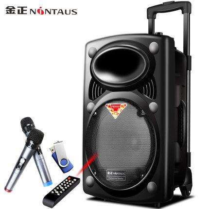 Nintaus N9 15 inch square dance sound power battery charging bar subwoofer box outdoor portable mobile