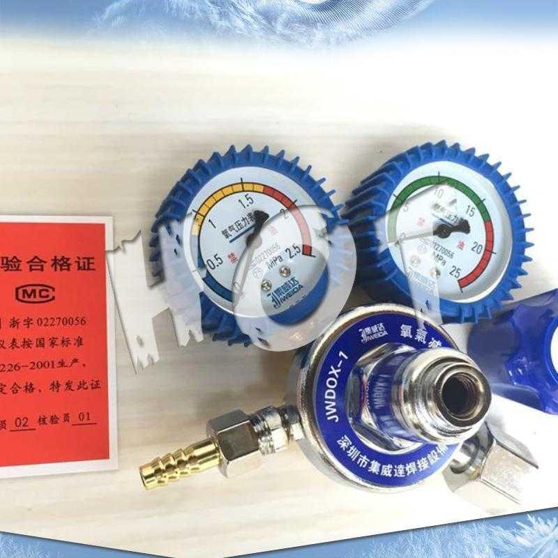 merilnik tlaka zraka v tabeli dekompresija preprosto redukcijski instrument povezuje weida merilnik kisika razbremenilni ventil baklo gorilec paketno pošto