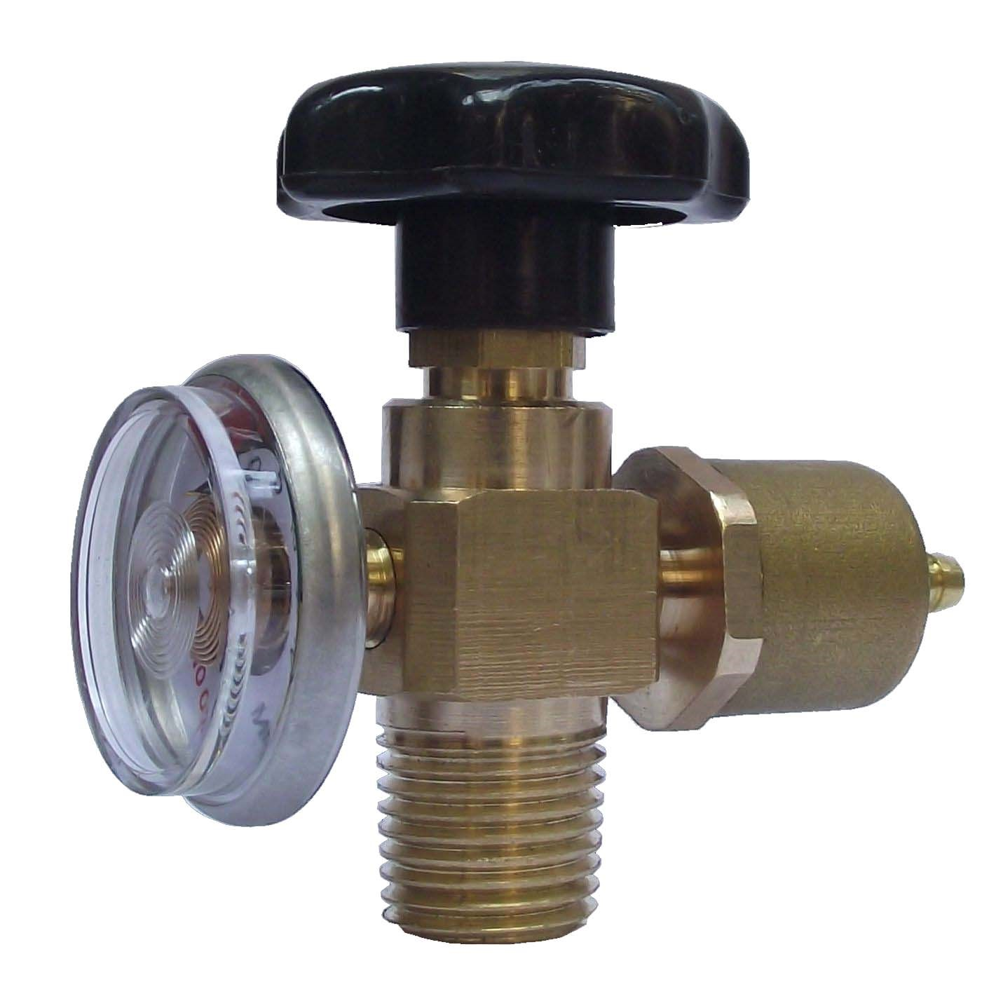 New type all copper oxygen valve portable welding equipment 2 liter small cylinder special pressure reducing valve switch across the bridge mail