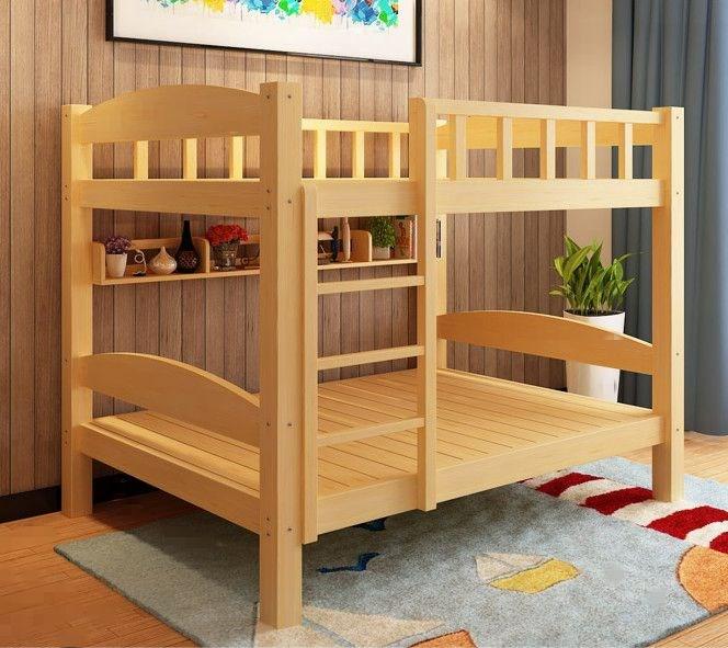 Holz Kinder INS Bett Bett Bett Bett der Mutter Unter den etagenbetten zedernholz aus dem erwachsenen - Bett