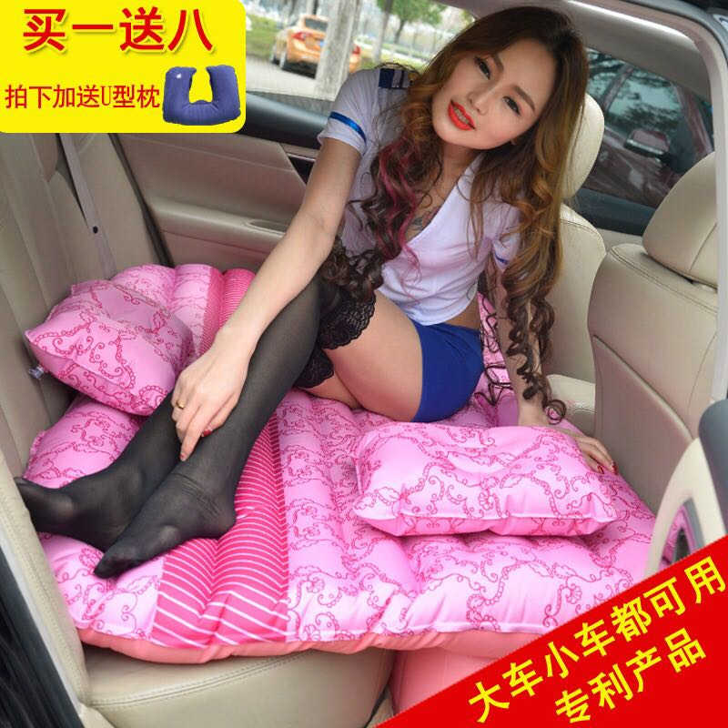 Volkswagen Bora car inflatable mattress outdoor portable travel bed car seat SUV car air bed