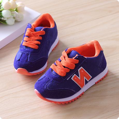 Осенью 2014 Новый корейский принцесса детей обувь мальчиков девочек обувь бархат n слово случайных обувь