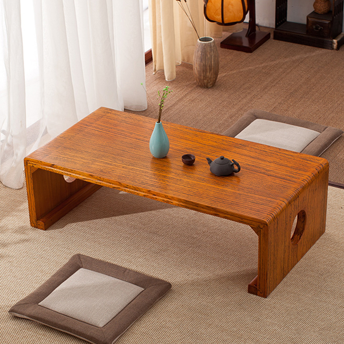 Simple living room table platform bed home coffee tea tea table table wood tea table tatami