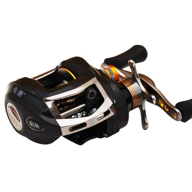 Yu Tangzuo right hand type 11+112 axis magnetic brake water wheels halleluyah pole fishing reel