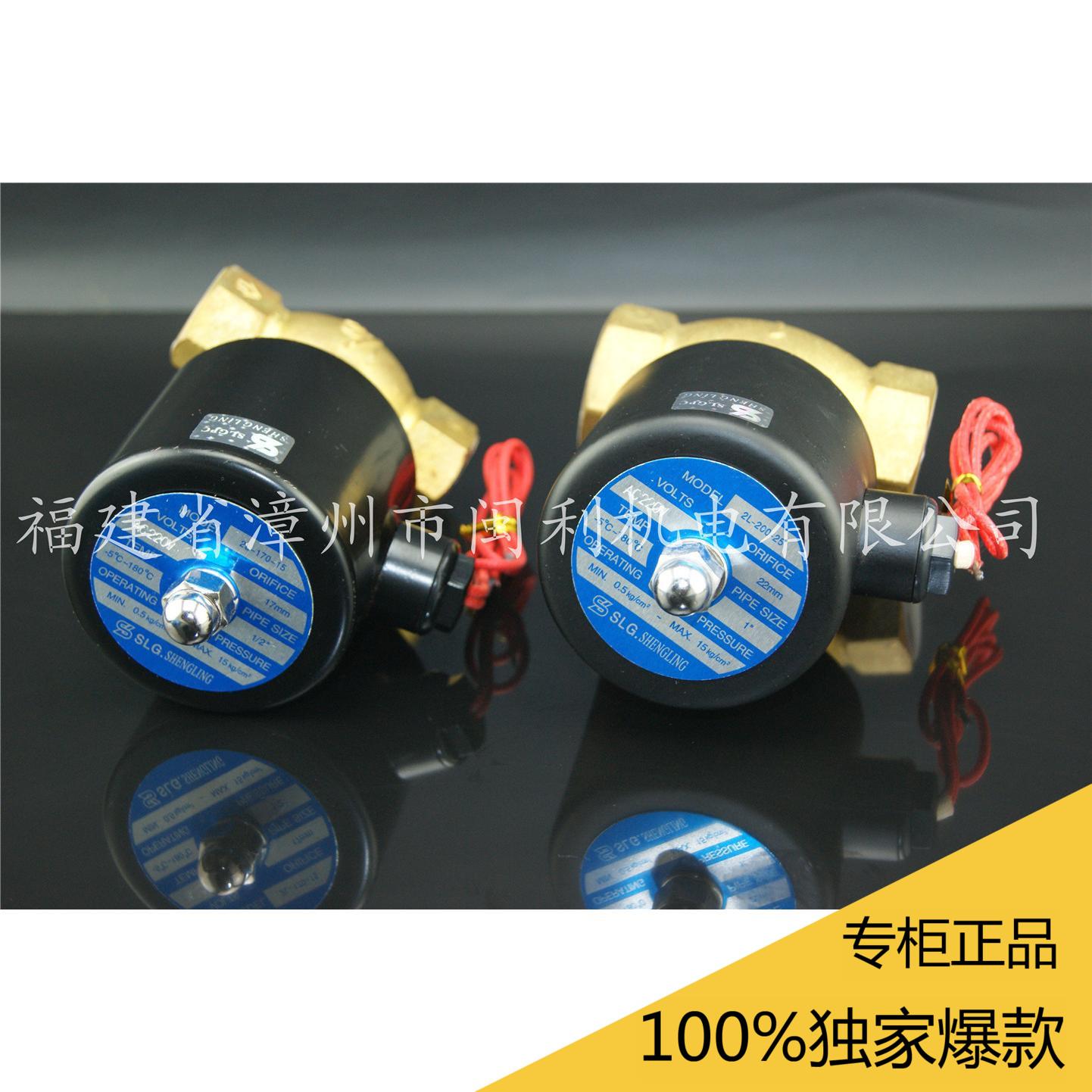 DN252L200-251 inch normally closed steam solenoid valve 2L-25 solenoid valve