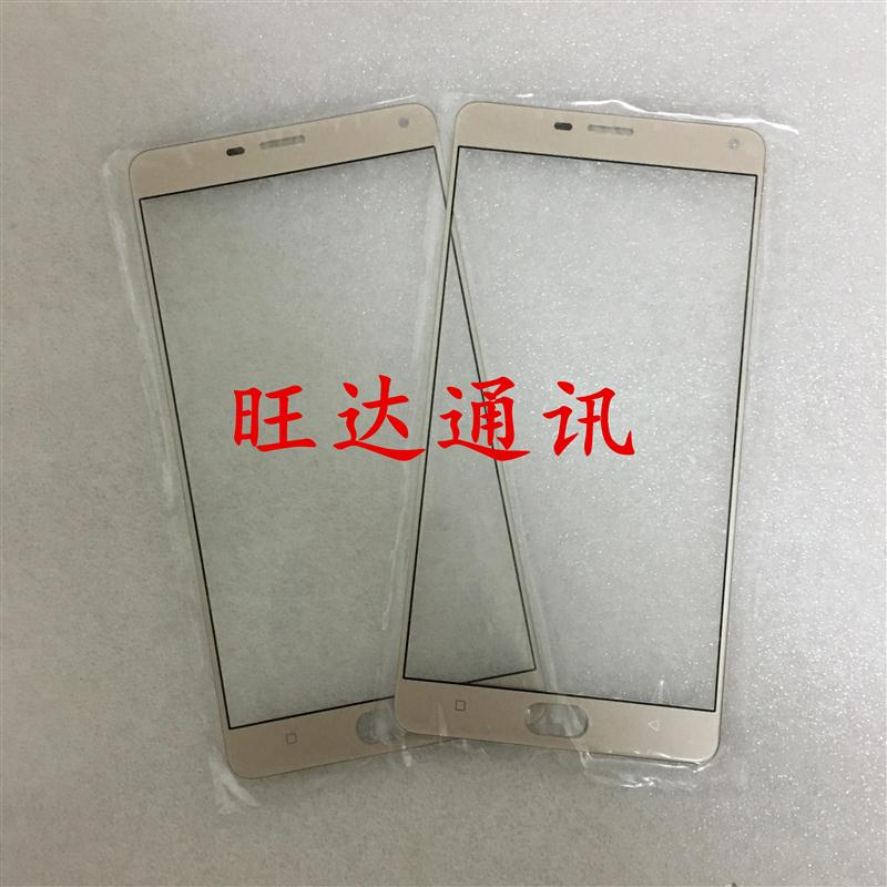 Application of M5plus touch screen Jin Jin GN8001 mobile phone cover glass screen glass cover hand