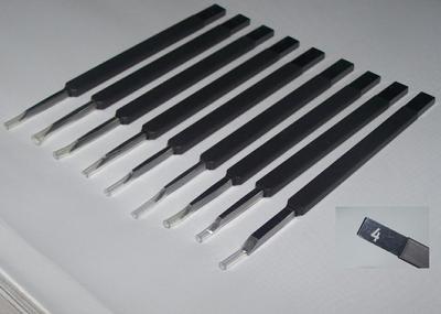 模型制作改装工具 刻线刀 推刀 0.15 0.2 0.3 0.5 1 2 3mm等