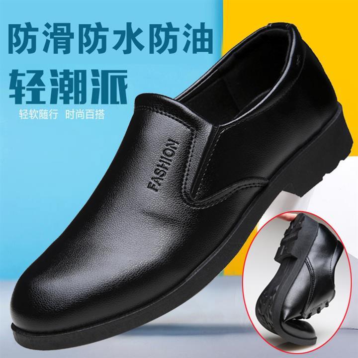 春秋男商务休闲皮鞋4cm微内增高工作鞋内高跟皮鞋系带绅士雅痞鞋