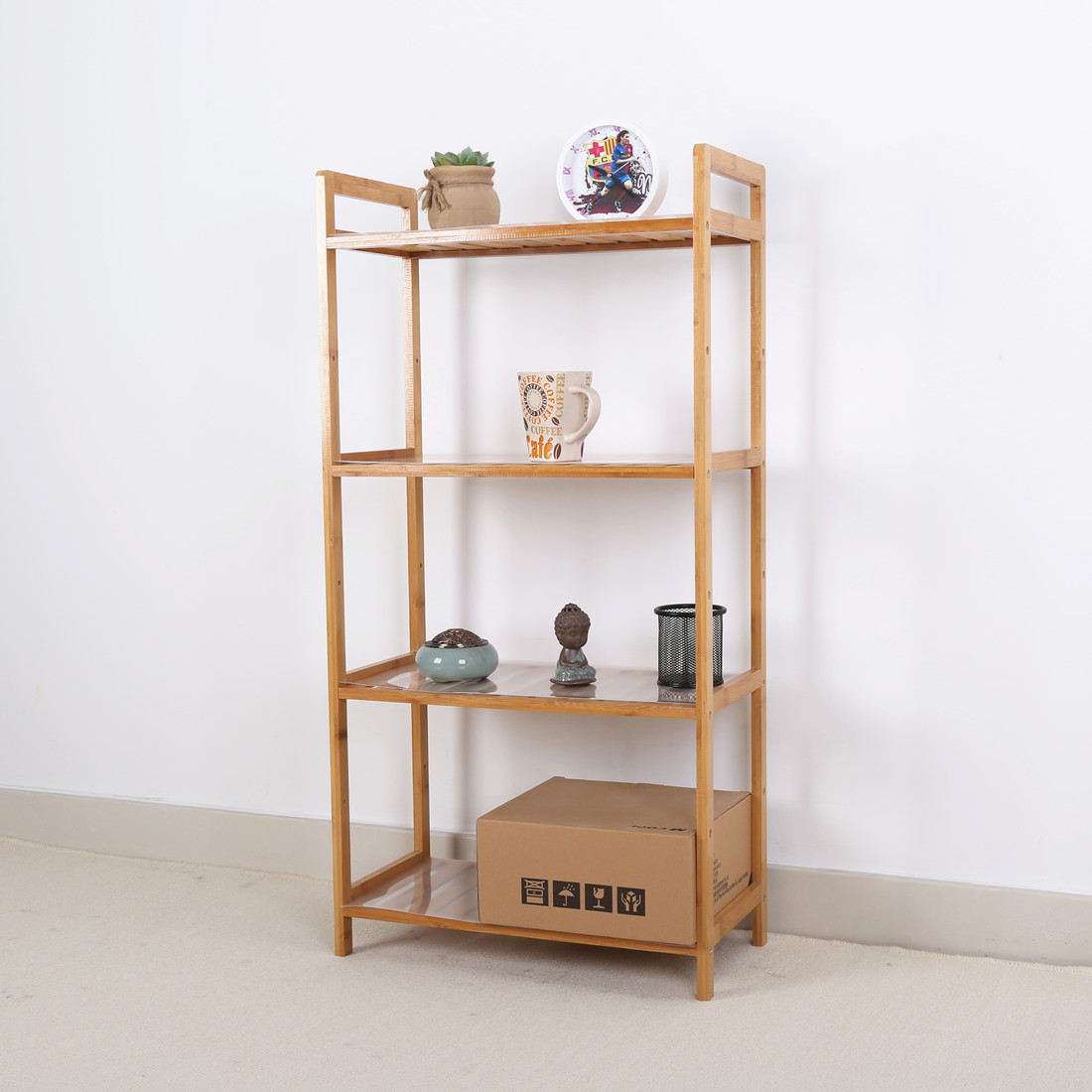 Simple bedside frame, dormitory accommodation, small shelf, bedroom storage rack, mini