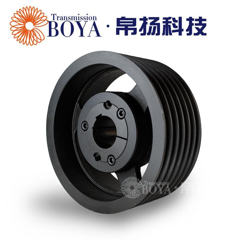 Bo Yang euro V poleas 6 surcos SPB400-06 manga 3535 de fundición de una lavadora Industrial
