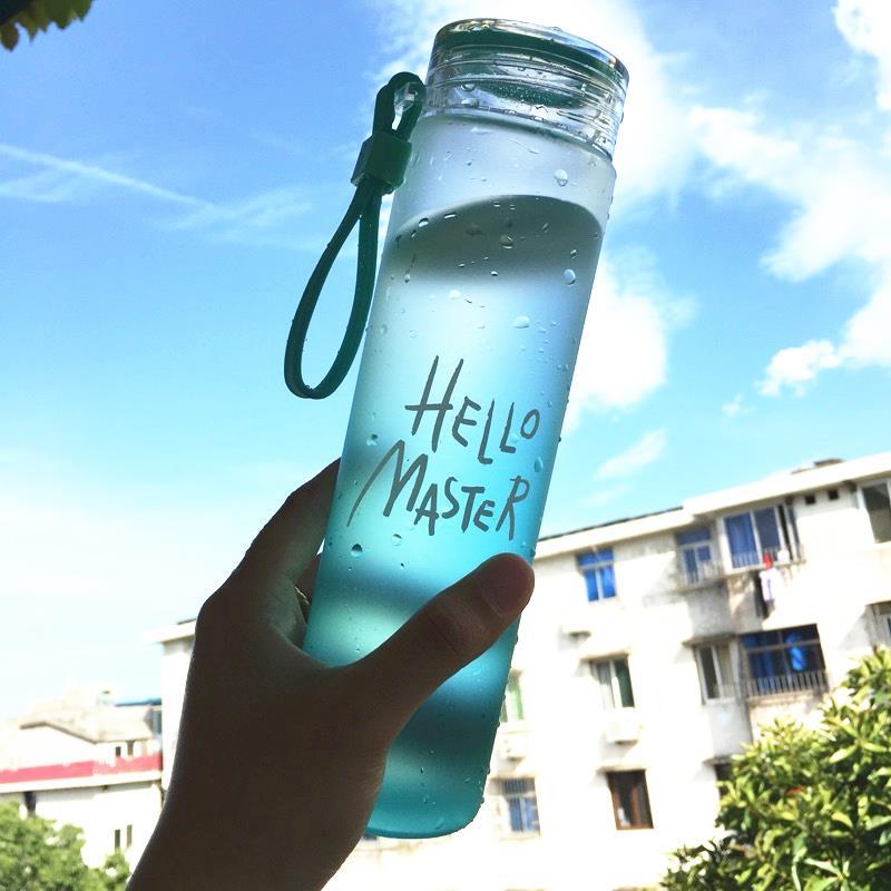Cup - Glas farbverläufen studenten trinken erwachsene MIT Deckel über tragbare Mädchen Cup hitzebeständigen teetasse