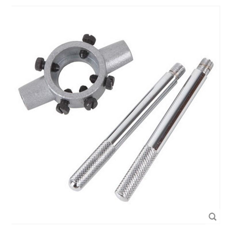 ocelový štít kolem 板牙 nástroje slitiny zinku eur 绞手 klíč 板牙 letadlo M3-M12