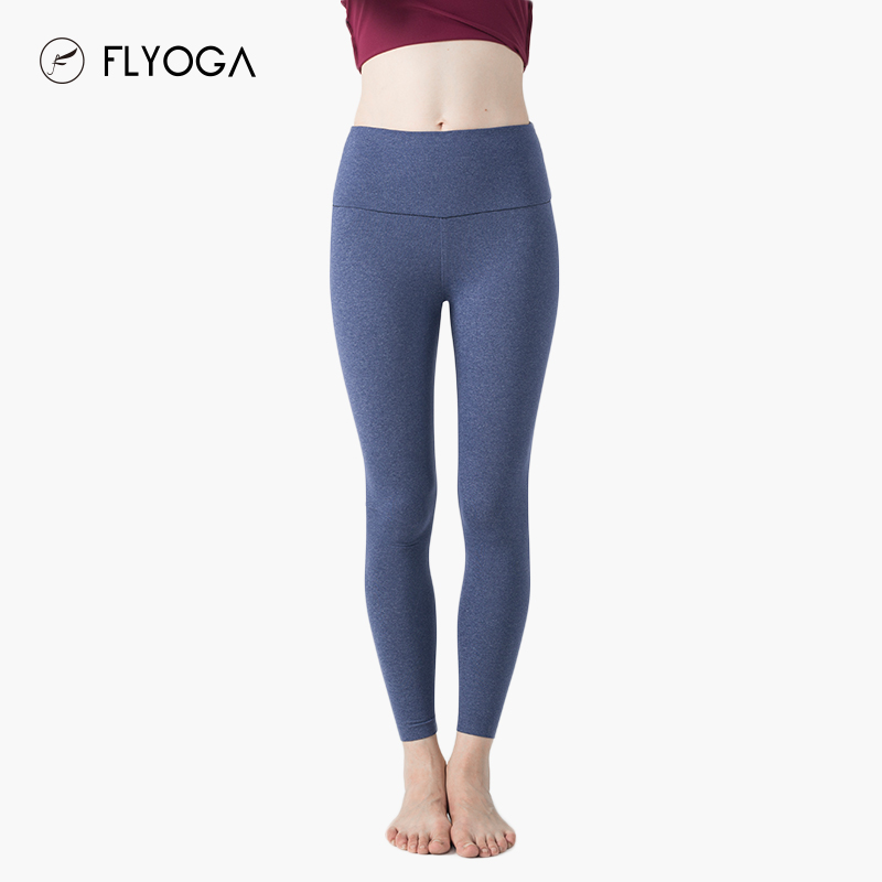 FLYOGA professional yoga clothes, autumn and winter new fitness pants breathable fast dry pants F6981 rejuvenation seamless trousers