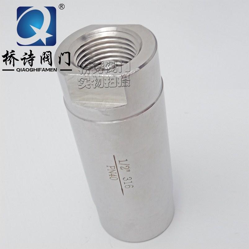 Aus Edelstahl 316 rückschlagventil hochdruck - Hahn mini rückschlagventil Faden rückschlagventil 1/4DN151 zentimeter