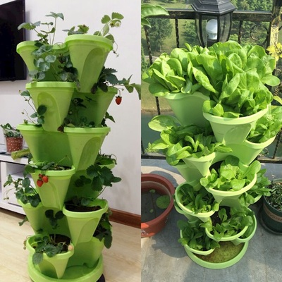 Stereo flower hydroponic vegetable planting machine balcon