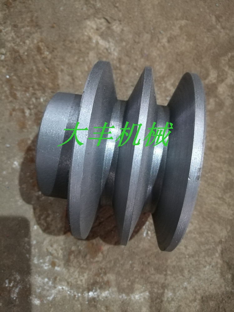 Belt pulley, cast iron belt pulley, triangle belt pulley, C type 130mm1-6 groove