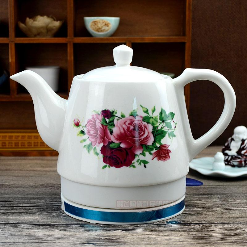 Taza de té en la casa con la protección del medio ambiente de desconexión automática 1. Hervir agua hirviendo agua 2L aparatos calentadores eléctricos de agua de té de cerámica de la ciudad