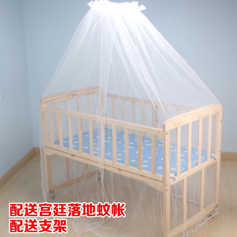 無漆木造ベビーベッド揺れ振分盤赤ちゃんBB童床ベッドで寝る子供用ベッド品子供振分盤ゆりかごベッド