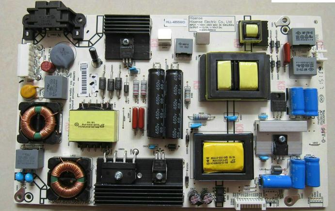 hisense LED43K300U 43 - tuumainen lcd - televisiot jatkuva virta, joka syntyy taustavalon virtalähteen levy step - up - f