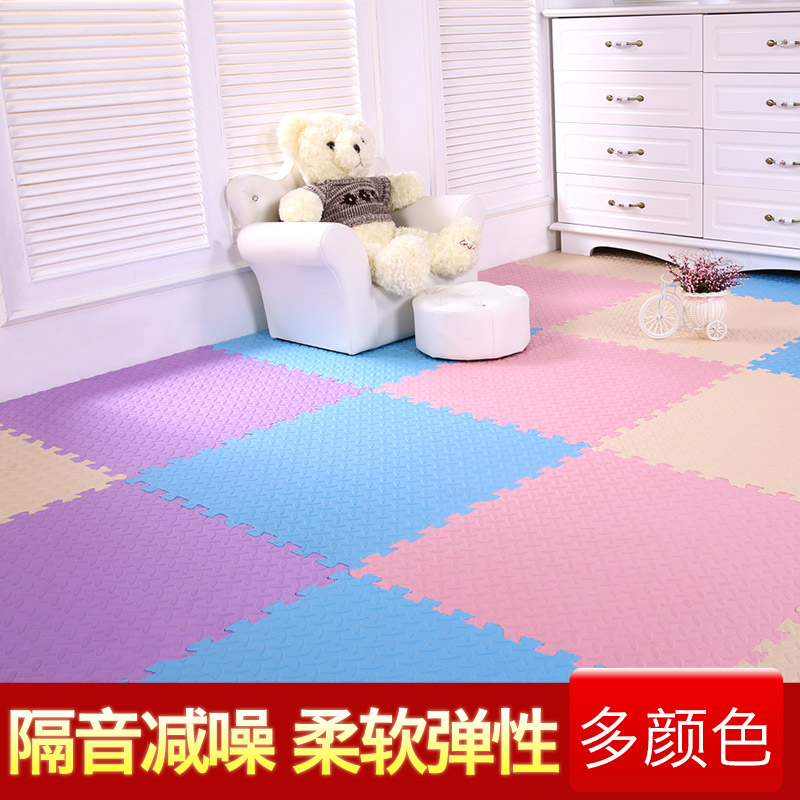 Week eight children bedroom floor puzzle baby pad 6060 thick stitching foam mats tatami