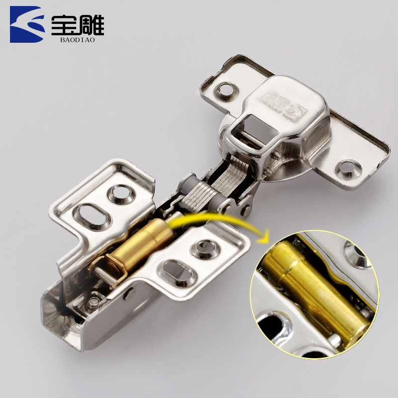 Stainless steel hinge cabinet, wardrobe door, aircraft hinge, hydraulic buffer door hinge, hardware fittings, quick dismantle