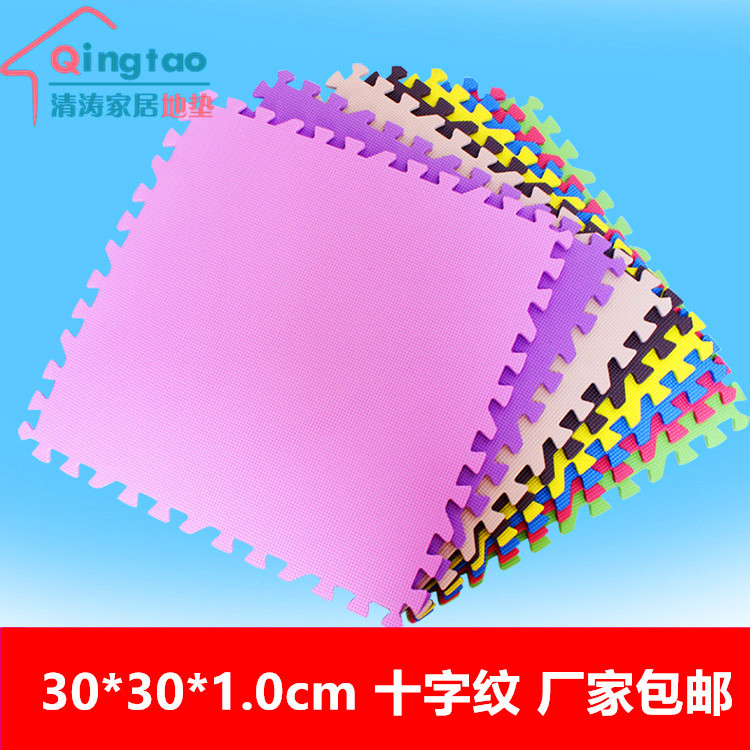 Tatami children 30*30*1.0 plastic climbing pad EVA stitching foam pad pad stitching children home