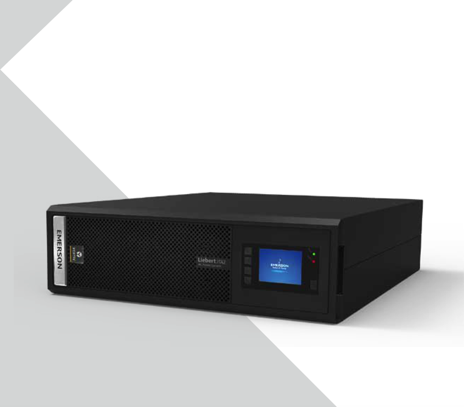 Emerson ITA-10k00ALA102C0010KVA/10KW Rack langfristigen - on - line - ups