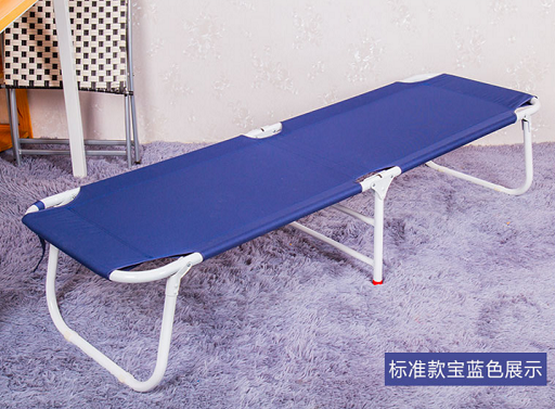 Simple temporary office bed siesta bed couch small beach widening folding bed single bed bed bed for lunch