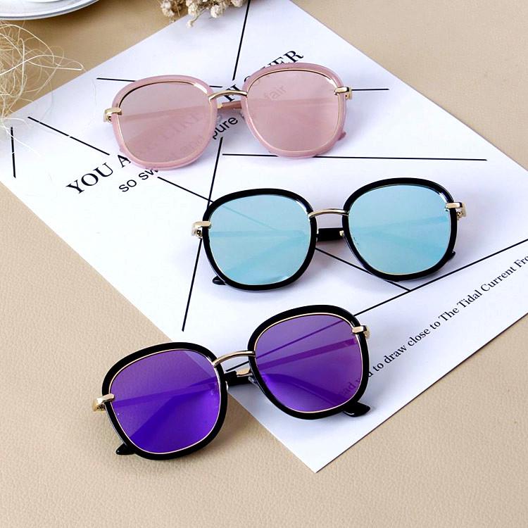 儿童太阳镜男童女童墨镜 韩国个性潮品眼镜小孩防紫外线宝宝眼镜
