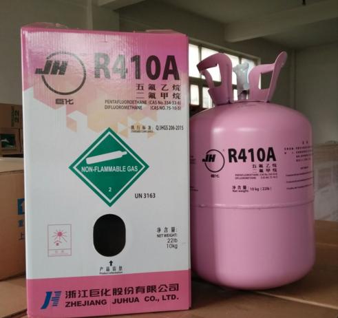 Grote r410a koelmiddel airconditioning koelmiddel koelmiddel een agent van 10 kg ijs sneeuw.