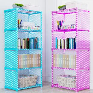 简易桌上落地书柜置物架儿童收纳学生书架子