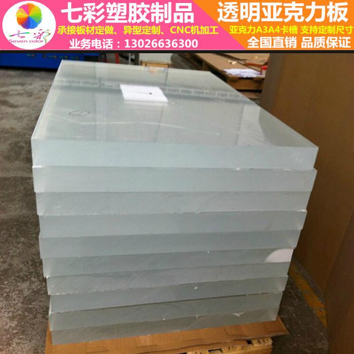 Acryl transparant bestuur om de verwerking van materialen met op maat gesneden 2-100mm30 PMMA