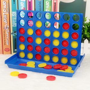 2-3-6岁幼儿园儿童立体四连棋五子棋游戏棋宝宝游戏棋类益智玩具