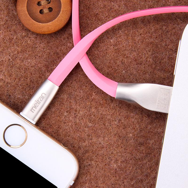 Cabo de dados para celular apple 6s7plus iPhone6 5 6 5 7 se ipad4 única cabeça de comprimento de cabo de carregamento