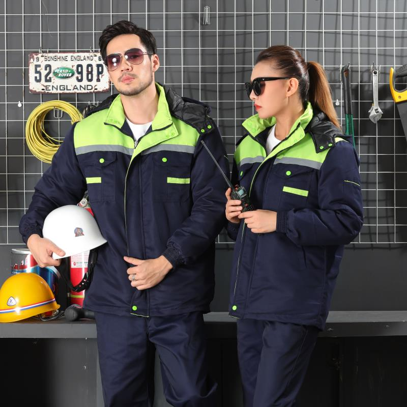 работата носи костюм мъжки дрехи с дълги ръкави, за ремонт на фабрики за дрехи през есента на мястото на работилницата работни дрехи.