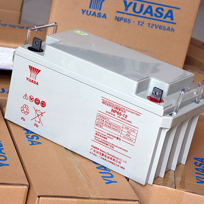 Yuasa 12v65ah valve regulated battery UPS battery Yuasa NP12V65AH battery warranty for three years