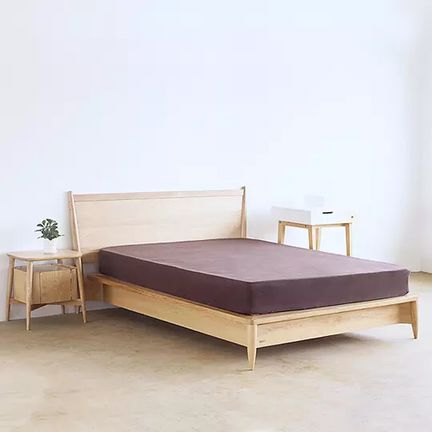 Generous bed, solid wood bed, new Chinese furniture, cabinet, double beds, oak, black walnut and fine wood products