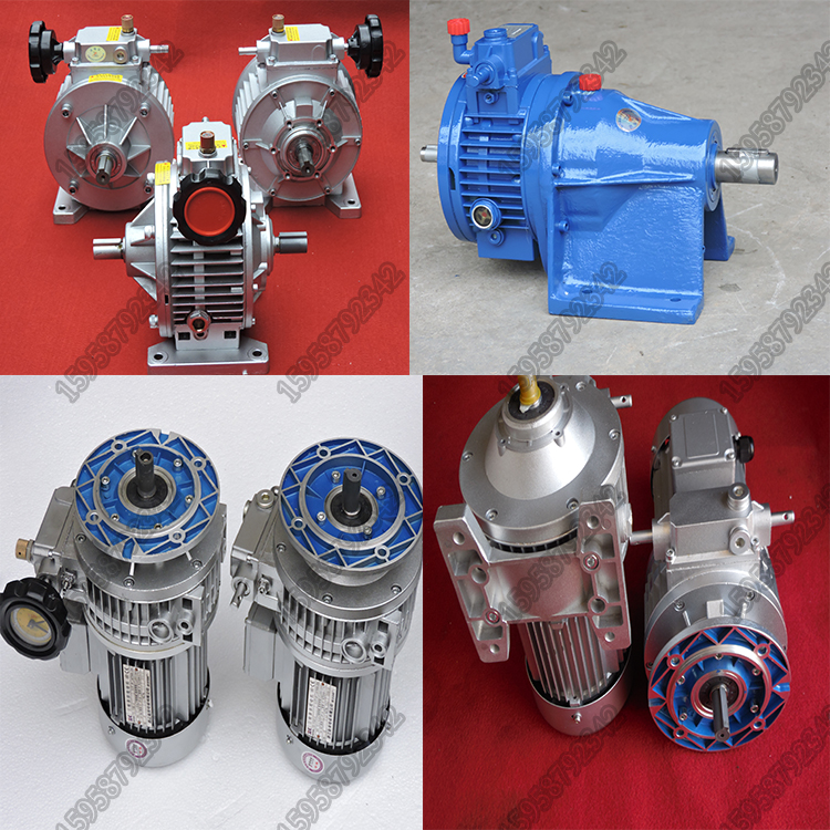 Supply horizontal planetary gear reducer MB0204071522 friction type non-polar variable speed motor
