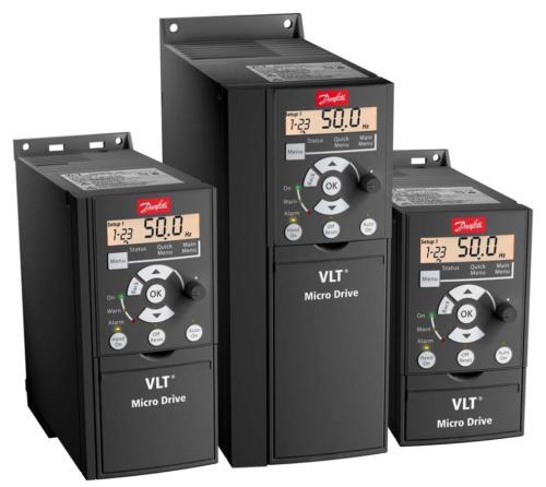 Danffos Danfoss convertidor de frecuencia FC51PK25T2 no de orden: 132F0008