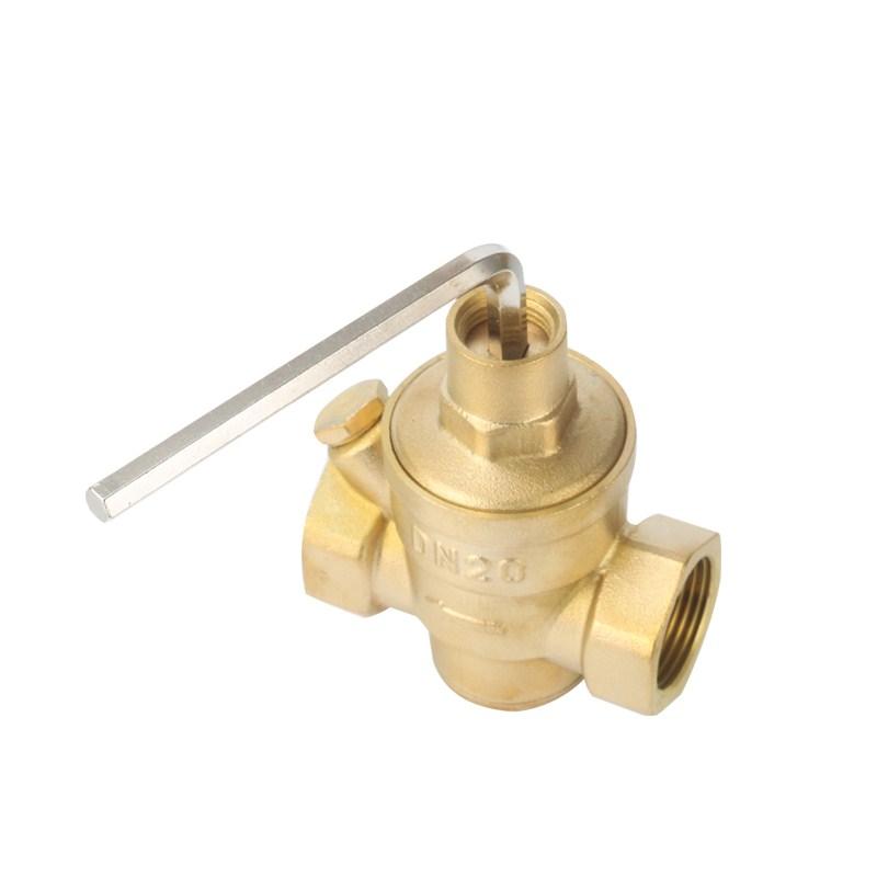 سماكة النحاس صمام تخفيض الضغط صمام استقرار المياه المنزلية الساخنة جهاز تنقية المياه DN154 DN206 نقطة نقطة