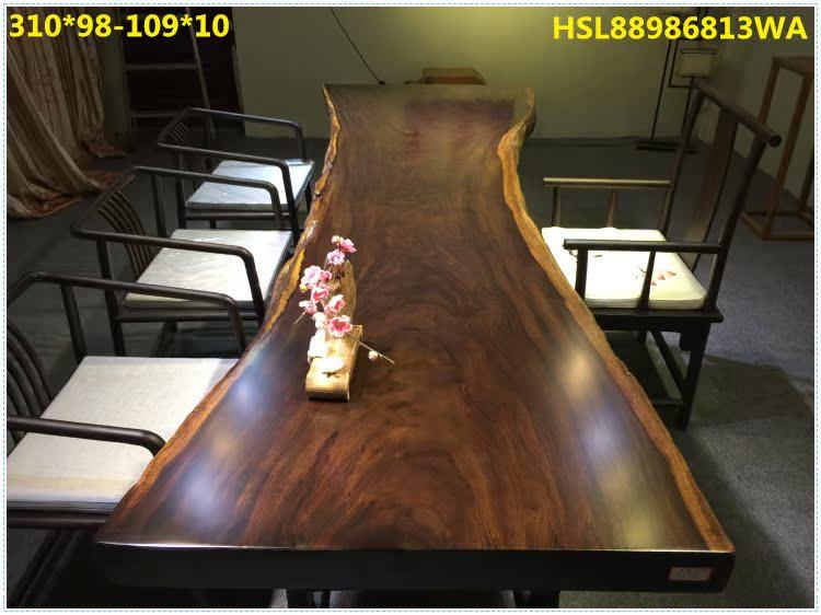 Poire de dalles, de fleurs, de table en rondins de bois d'acajou spot table table table de thé de mobilier de bureau bureau