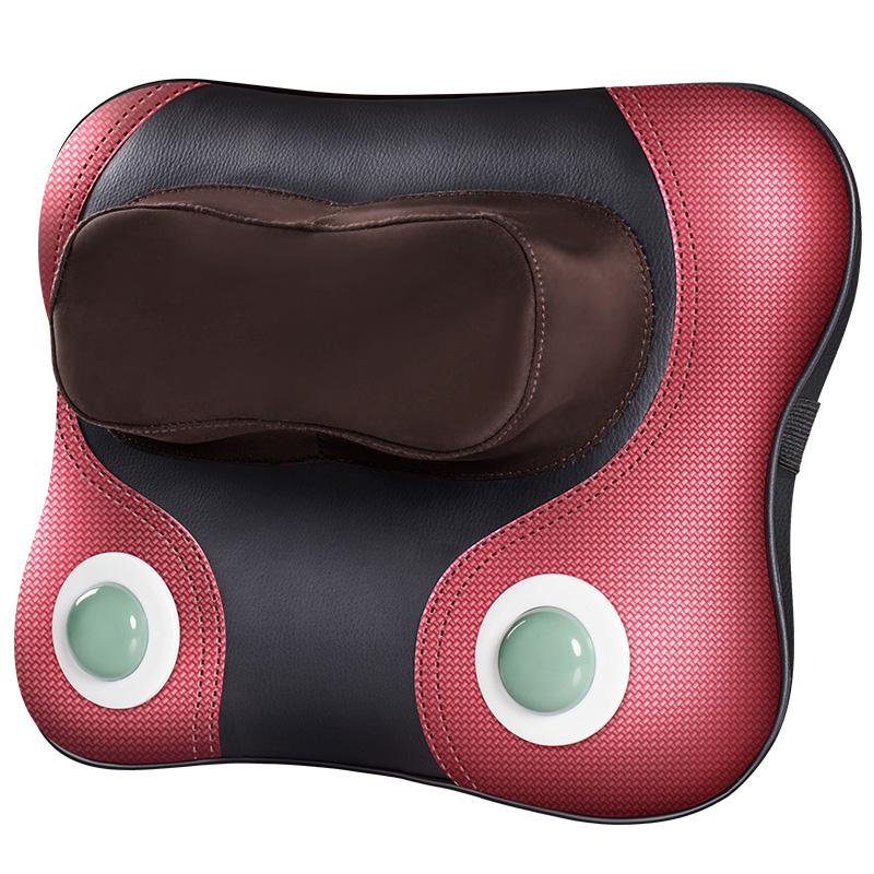 масаж на врата на джим кери шиен прешлен, електрически възглавници на раменете на кръста на множество функции на тялото. на гърба на лумбалния отдел на гръбначния стълб, домакински